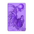 Rooster.stl Download free STL file Rooster • 3D print template, stlfilesfree