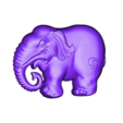elephant_pendant.stl Download free OBJ file elephant pendant • 3D printing design, stlfilesfree