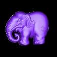elephant_pendant.obj Télécharger fichier OBJ gratuit pendentif éléphant • Objet pour impression 3D, stlfilesfree