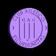 Escudo Excursionistas.stl Download STL file Hikers' Club Shield • 3D printable design, Santiago7
