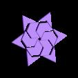 HexStarAll.stl Download free STL file Hexagram, Hexagonal Star, Hexagon Puzzle • 3D printing model, LGBU