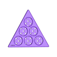 Magic_Triangle_Base_1.stl Download free STL file Magic Triangle, Math Puzzle • 3D printing design, LGBU