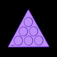 Magic_Triangle_Base_3_flat.stl Download free STL file Magic Triangle, Math Puzzle • 3D printing design, LGBU