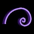 Golden_Curve_Spiral.stl Download free STL file Golden Curve/Spiral • 3D printer object, LGBU