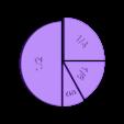 UnitFractions4Pieces.stl Download free STL file Unit Fractions, Math Models • Object to 3D print, LGBU
