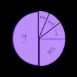 UnitFractions-Five-Pieces.stl Download free STL file Unit Fractions, Math Models • Object to 3D print, LGBU