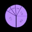 UnitFractions-Six-Pieces.stl Download free STL file Unit Fractions, Math Models • Object to 3D print, LGBU