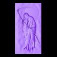 DeathGrimReaper.obj Télécharger fichier OBJ gratuit Death Grim Reaper modèle de bas-relief • Modèle à imprimer en 3D, stlfilesfree