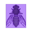 mosca3dr.stl Download free STL file 3D Fly • 3D print template, 3dlito