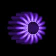 dart_flights_v2.stl Download free STL file 12G CO2 NON lethal darts • 3D print design, MuSSy
