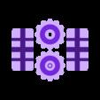 PCB_Clamp_Knobs_v1.0.stl Download free STL file PCB Clamp v1.0 • 3D printer template, MuSSy