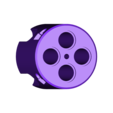 4_round_cylinder.stl Download free STL file Revolver Cylinder Exercise (HOW TO 3,4,5,6 & 12 shots) • 3D printer model, MuSSy