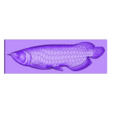 Arowana_fish.stl Download free STL file Arowana fish • 3D printer template, stlfilesfree
