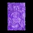 guanyin_with_dragon_and_phoenix.stl Télécharger fichier STL gratuit guanyin avec dragon et phoenix • Plan pour imprimante 3D, stlfilesfree