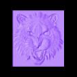 tiger_head.stl Download free STL file tiger head • 3D printable template, stlfilesfree