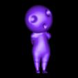 kodama pose 2.OBJ Download OBJ file Glowing Kodama Princess Mononoke Luminous Tree Elves. (6 poses) • 3D print object, paulienet