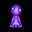 kodama pose 4.OBJ Download OBJ file Glowing Kodama Princess Mononoke Luminous Tree Elves. (6 poses) • 3D print object, paulienet