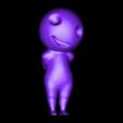 kodama pose 3.OBJ Download OBJ file Glowing Kodama Princess Mononoke Luminous Tree Elves. (6 poses) • 3D print object, paulienet