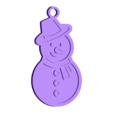 snowman.stl Download free STL file 15 christmas decorations • Object to 3D print, Giara