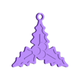 holly.stl Download free STL file 15 christmas decorations • Object to 3D print, Giara