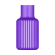 Ваза ребристая.stl Download free STL file Vase • Object to 3D print, sotikov