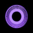 Turbine-LP-Rotor101.stl Download free STL file Turboprop Engine Modified Parts (No.2) • 3D printable design, konchan77