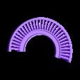 Turbine-LP-NGV101.stl Download free STL file Turboprop Engine Modified Parts (No.2) • 3D printable design, konchan77