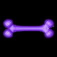 Bone.obj Télécharger fichier OBJ gratuit OS • Modèle imprimable en 3D, Colorful3D