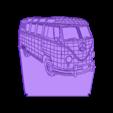 WLAMP.stl Télécharger fichier STL gratuit Lampe VOLKSWAGEN (Shine dans l'obscurité) • Plan pour impression 3D, 3dlito