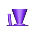 Pot trombone et stylo v2.stl Download STL file Paperclip Pen Case / Holder for Desk • 3D printing model, AlDei