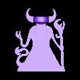 demonio.STL Download free STL file mini demon (not base) • 3D print design, izanferrco