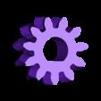 Drakon_Small_Gear.stl Download free STL file Drakon reinforced extruder • 3D printer template, _MSA_