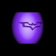 "tirelire oeuf batman contenant .stl Download free STL file ""Batman egg"" piggy bank • 3D printing model, psl"