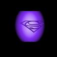 """tirelire oeuf superman contenant .stl Télécharger fichier STL gratuit Tirelire """"oeuf superman"""" • Objet imprimable en 3D, psl"""