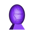Super oeuf ironman.stl Download free STL file Ironman superhero eggs • Object to 3D print, psl