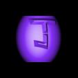 "tirelire oeuf joker contenant.stl Download free STL file Piggy bank ""joker egg"" • Template to 3D print, psl"