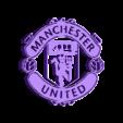 manchester-united.stl Download free STL file Manchester united Logo • 3D printable design, 3dleofactory