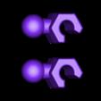 "modibot-remix-arms-hands.stl Download free STL file Modibot action figure ""easy print"" remix • 3D printer design, firebird"