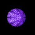 4twistled1.stl Download free STL file QuadTwistLED1 • 3D printer object, Birk