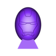 Super oeufs ironman.stl Download free STL file Super Eggs Collection with base • 3D printer object, psl