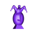 Super oeufs jokerl.stl Download free STL file Super Eggs Collection with base • 3D printer object, psl