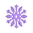 Snowflake.stl Download free STL file snowflake decoration or drinks coaster • 3D printer template, Pongo