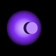 Eye_Ball_Small_B.stl Download free STL file Halloween Glow in the dark wall/door hanger (Skelton) • 3D print object, Pongo