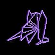 customized_origami_dragon.stl Download free STL file Customizable Origami Dragon • 3D print design, MightyNozzle