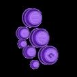 Tonneau et lanterne decor MDM.stl Download STL file Drums 28mm Decorative object • Model to 3D print, Zaeius