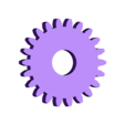 Spur_Gear_22_teeth.stl Download free STL file 3DRC 1/24 AWD Drift car • Design to 3D print, finhudson16
