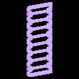 rack_rt.stl Télécharger fichier STL gratuit Support mural DVD / PS4 / BluRay (9 unités) • Plan pour imprimante 3D, jbrum360