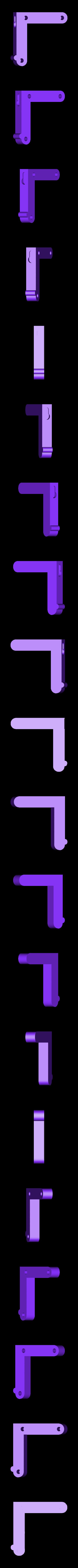 Dishcloth_hanger_-_Right_bracket_by_CreativeTools.se.stl Télécharger fichier STL gratuit Cintre de torchon (imprimable en 3D) • Plan pour impression 3D, CreativeTools
