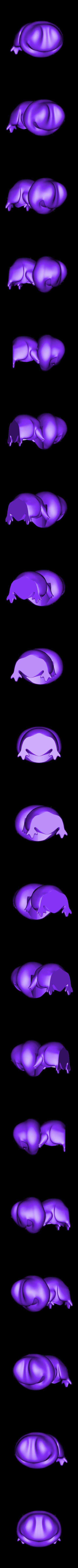 TravelFrogH60mmA.stl Download free STL file Travel Frog • 3D printing template, ROYLO