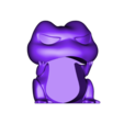 TravelFrogA.stl Download free STL file Travel Frog • 3D printing template, ROYLO